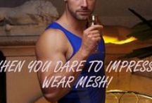 GO SOFTWEAR MESH COLLECTION! / THE LATEST IN MESH TOPS & BOTTOMS FOR MEN!  A GUY IN MESH IS HARD TO RESIST! / by GO SOFTWEAR CLOTHING
