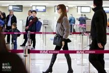 airport fashion /  Kpop idols airport fashion