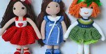 Horgolt figurák, amigurumik, játékok - DachinDesign / Horgolt figurák, kézműves játékok.
