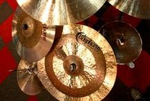 Cymbals & drums / Here are some pics of the cymbals a love