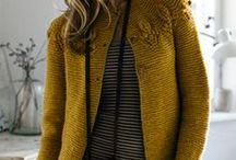 Knit - Free patterns - Sweaters, cardigans, scarfs, etc / Patterns / by Laura García