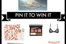 Pin it to Win it Newport Skinny Tea contest / Newport Skinny Tea is giving away some awesome Spring presents to 3 lucky winners, follow our simple instructions to win your choice of great Valentine's gifts for yourself!