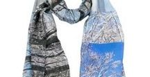 Winter colors / Winter fashion complements and prints