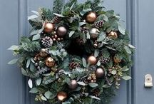 Doors and wreaths