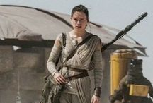 Rey and Daisy / Daisy Ridley and Rey!