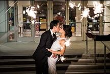 Classic Black+White Weddings / Black and white never goes out of style, it always goes great with everything!