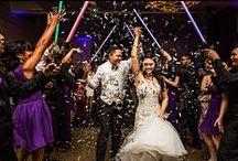 Purple Weddings / Purple is an elegant color to dress your wedding