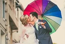 Pop of Color Weddings! / Those eye-catching colors that make your wedding whimsical and fun