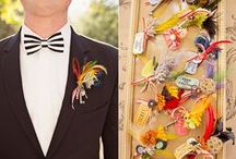 Customize Your Look / Add special, fun and stylized items to your ensemble that fit your wedding design.