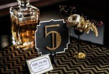 Great Gatsby Weddings / Recreate the roaring 20's with a Great Gatsby theme