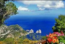 Capri / Capri is a tourist destination for both Italians and foreigners. In the 1950s Capri became a popular resort. In summer, the island is heavily visited by tourists, especially by day trippers from Naples and Sorrento. The center of Capri is the Piazza. Capri has twelve churches, seven museums and several monuments. The most visited attraction in Capri is the Grotta Azzurra (Blue Grotto). It is a special cave, discovered in the 19th century by foreign tourists and has been a phenomenon ever since.