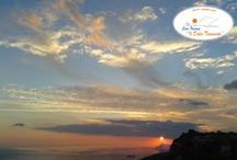 """Sunrise, Sunset / """"Sapete, è geniale questa cosa che i giorni finiscono. E' un sistema geniale. I giorni e poi le notti. Sembra scontato, ma c'è del genio. E là dove la natura decide di collocare i propri limiti, esplode lo spettacolo. I tramonti.""""  Alessandro Baricco, Oceano Mare"""
