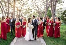 Red Weddings / Red is the color of romance and love