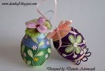 Cross stitch easter and spring