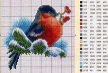 Cross stitch birds / by Daniela Adamczyk