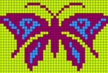 cross stitch insect