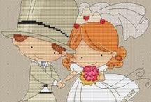 Cross Stitch - Love