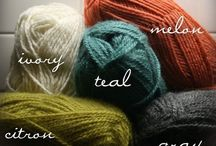 Knit and crochet colour inspiration