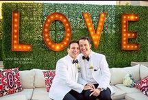 Same Sex Weddings / Celebrating love wins because love is love