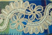 Romanian Point Lace - makrama szydełkowa