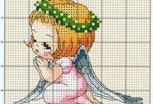 Little angels cross stitch
