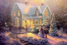 ART THOMAS KINKADE