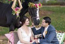 Spring + Summer Weddings / Ideas for that warm weather wedding