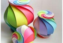 Le manine laboriose / DIY...glue scissor paper colour and fantasy