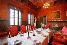 Interiér zámku Loučeň