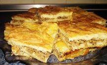 kıymalı tepsi böreği -squab pie