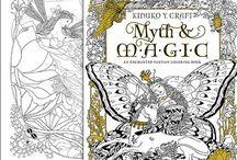 Myth & Magic Coloring Book