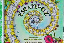 Escape to Oz coloring book