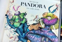Pandora Coloring Book