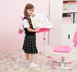 Mini Pink Desk for Girls
