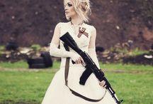 Girls&Guns / Beautiful girls and their guns