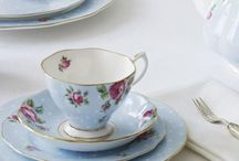 Polka Blue Teaware / Impress your guests with the vibrant and youthful Polka Blue collection from Royal Albert. A gorgeously feminine design with traditional florals, Polka Blue is inspired by the fun-loving designs of the forties and will add the wow-factor to any gathering with its light-hearted appeal. Soft blue is scattered with roses and playful polka dots for an eclectic finish to really get everybody talking.