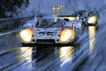 Porsche 917 Art / The ART of the greatest Race Car ever!