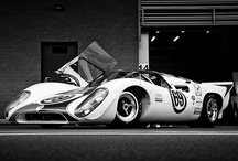 Lola T-70 Race Car / The Lola T70 was built for sports car racing, popular in the mid to late 1960s. Developed by Lola Cars in 1965 in the UK, over 100 were made. They were fast, competitive, stunningly designed and way ahead of their time!