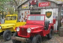 Real Jeeps; CJ's & other makes too. / For me, the style went out of Jeep design post 1986 ... I have run an '82 CJ5 for 13 years and still enjoy every moment of open-air motoring in it!