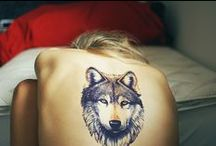 Tatoos and pictures of wolf / The idea of wolf