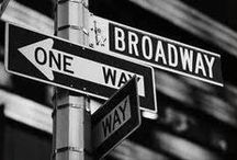 Broadway! Broadway! Broadway! / Just the word Broadway is so iconic