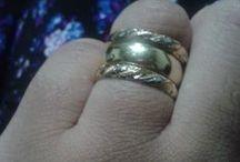 anéis e aliança