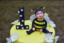 Bee themed cakes