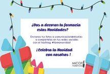 #farmanavidad / Las farmacias celebran la Navidad con nosotros enseñándonos como han decorado sus establecimientos en estas fechas
