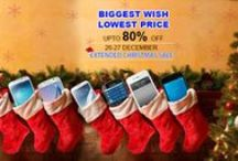 Biggest Wish Lowest Price / Christmas & New Year Sale on togofogo. upto 30% cash back on e-wallets.