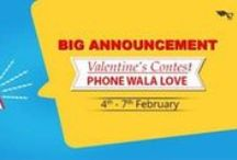 """Phone Wala Love Sale & Contest By TogoFogo / Be upto date with TogoFogo on Upcoming Big Sale Drive """"Phone Wala Love"""" and Contest """"Phone Wala Love"""". Enjoy Huge Savings on Shopping."""