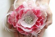 Pink / pink wedding decor, dresses and inspiration