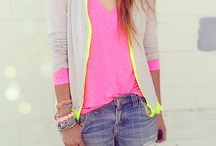 All About Neon / by French Cuff Boutique