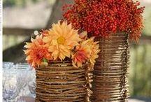 Red/Orange Fall Wedding Ideas