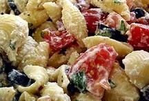 Recipes - Pasta (salad's & hot dishes) / by Ginga Hathawayg
